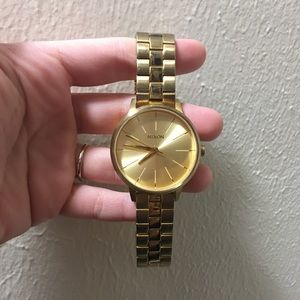 Nixon Gold Kensington Watch